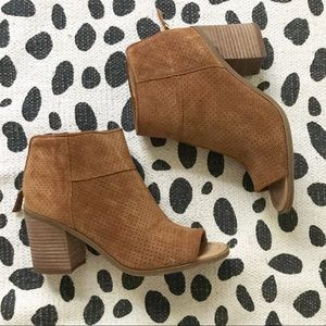 💥NEW💥Franco Sarto Brown Goldie Ankle Boot!Sz:8.5
